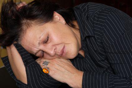 Glutenunverträglichkeit Symptome - Frau